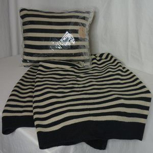 Jack and Lucy StripedTravel Pillow and Blanket Set